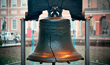 cracked liberty bell